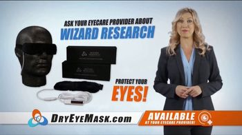Wizard Research Electric Dry Eye Mask TV Spot, 'Targeted Heat Therapy' - Thumbnail 7