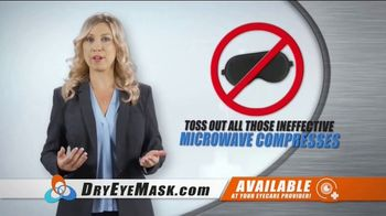 Wizard Research Electric Dry Eye Mask TV Spot, 'Targeted Heat Therapy' - Thumbnail 2