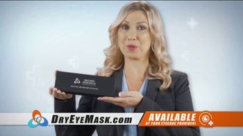 Wizard Research Electric Dry Eye Mask TV Spot, 'Targeted Heat Therapy' - Thumbnail 3