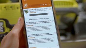 The Home Depot App TV Spot, 'Just a Few Taps' - Thumbnail 6