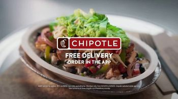 Chipotle Mexican Grill TV Spot, 'Christina: Free Delivery' - Thumbnail 10