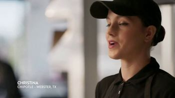 Chipotle Mexican Grill TV Spot, 'Christina: Free Delivery' - Thumbnail 5