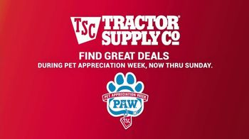 Tractor Supply Co. Pet Appreciation Week TV Spot, 'Bandit' - Thumbnail 7