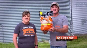 Antler King Roasted Bean Cuisine TV Spot, '29% Protein, 14% Fat' Featuring Don Kisky, Kandi Kisky - Thumbnail 1