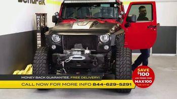 MaxJax Portable Car Lift TV Spot, 'Maximize Space: Save $100' - Thumbnail 1