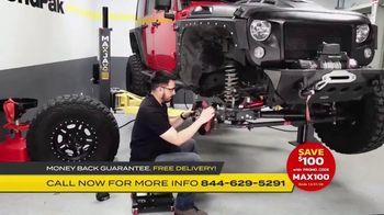 MaxJax Portable Car Lift TV Spot, 'Maximize Space: Save $100' - Thumbnail 6
