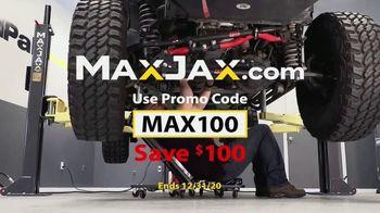 MaxJax Portable Car Lift TV Spot, 'Maximize Space: Save $100'