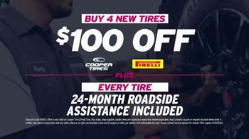 AutoNation TV Spot, 'Back on the Road: $100 Off Four Tires'