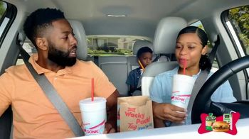 Sonic Drive-In Wacky Pack Kids Meal TV Spot, 'Nickelodeon: The Wilson Family' - Thumbnail 1
