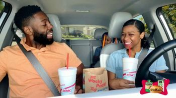 Sonic Drive-In Wacky Pack Kids Meal TV Spot, 'Nickelodeon: The Wilson Family' - Thumbnail 2