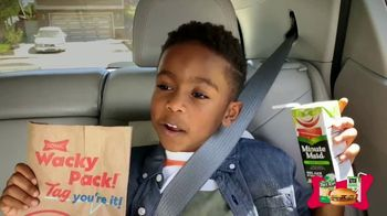 Sonic Drive-In Wacky Pack Kids Meal TV Spot, 'Nickelodeon: The Wilson Family' - Thumbnail 4