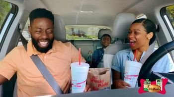 Sonic Drive-In Wacky Pack Kids Meal TV Spot, 'Nickelodeon: The Wilson Family' - Thumbnail 5
