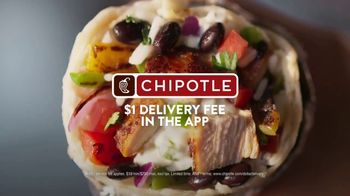 Chipotle Mexican Grill TV Spot, 'Carson: Real Meat: $1 Delivery' - Thumbnail 7