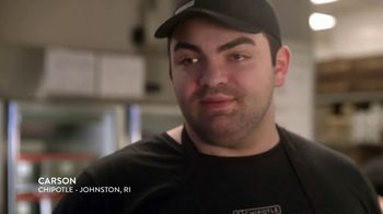 Chipotle Mexican Grill TV Spot, 'Carson: Real Meat: $1 Delivery'