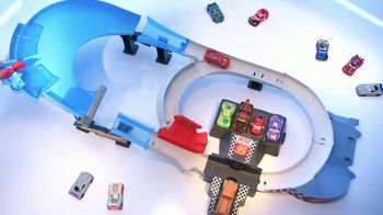 Disney Pixar Cars Rusteze Double Circuit Speedway TV Spot, 'Drift Mode' - Thumbnail 4