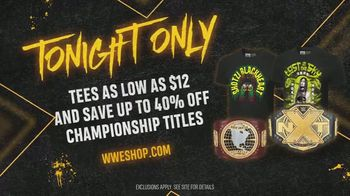 WWE Shop TV Spot, 'We Are: $12 tees & 40% off Titles' - Thumbnail 8