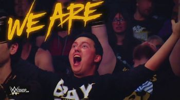 WWE Shop TV Spot, 'We Are: $12 tees & 40% off Titles' - Thumbnail 1