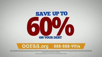 Ooraa Debt Relief Company TV Spot, 'Monthly Debt Payments' - Thumbnail 2