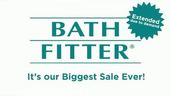Bath Fitter Biggest Sale Ever TV Spot, 'Extended: Shower You've Always Wanted' - Thumbnail 1