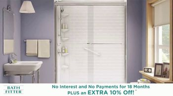 Bath Fitter Biggest Sale Ever TV Spot, 'Extended: Shower You've Always Wanted' - Thumbnail 4