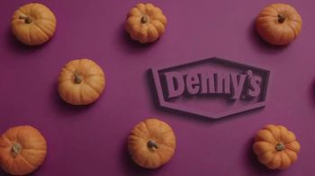 Denny's Pumpkin Pecan Pancake Meal TV Spot, 'You've Waited All Year' Song by Elastic Hoofbeats - Thumbnail 1