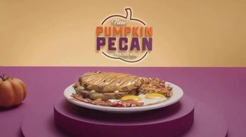 Denny's Pumpkin Pecan Pancake Meal TV Spot, 'You've Waited All Year' Song by Elastic Hoofbeats - Thumbnail 5