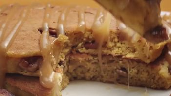 Denny's Pumpkin Pecan Pancake Meal TV Spot, 'You've Waited All Year' Song by Elastic Hoofbeats - Thumbnail 8