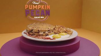 Denny's Pumpkin Pecan Pancake Meal TV Spot, 'You've Waited All Year' Song by Elastic Hoofbeats - Thumbnail 9