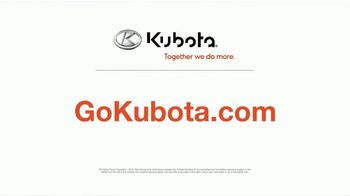 Kubota BX Series TV Spot, 'Versatile' - Thumbnail 6