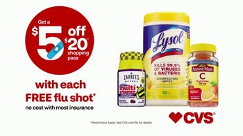 CVS Health TV Spot, 'Superhero: $5 Off $20 With Flu Shot' - Thumbnail 10