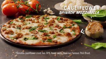 Donatos Cauliflower Spinach Mozzarella Pizza TV Spot, 'Punked' - Thumbnail 4