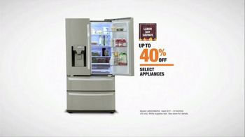 The Home Depot Labor Day Savings TV Spot, 'Cool Drinks & Homemade Treats: LG Refrigerator' - Thumbnail 8