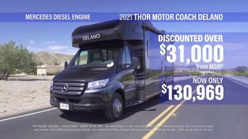 La Mesa RV TV Spot, 'Think: 2021 Thor Motor Coach Delano'