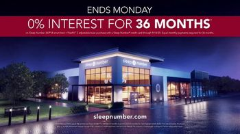 Sleep Number Biggest Sale of the Year TV Spot, 'Save $1,000 and 0% Interest for 36 Months' - Thumbnail 8