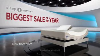Sleep Number Biggest Sale of the Year TV Spot, 'Save $1,000 and 0% Interest for 36 Months' - Thumbnail 1