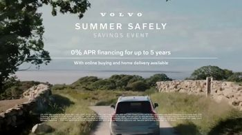 Volvo Summer Safely Savings Event TV Spot, 'Safety Above Everything: XC90' Song by Marti West [T1]