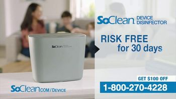SoClean Device Disinfector TV Spot, 'Activated Oxygen: $100 Off' - Thumbnail 6
