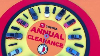 Toyota Annual Clearance TV Spot, 'Labor Day Final Countdown: Clock Is Ticking' [T2] - Thumbnail 1