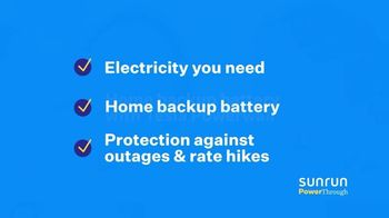 Sunrun Rechargeable Solar Battery System TV Spot, 'Under Your Roof' - Thumbnail 4