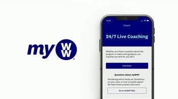 WW App TV Spot, 'Easier: Join Free: Three Months Free' - Thumbnail 7