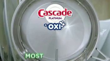 Cascade Platinum + OXI TV Spot, 'As Clean as Possible: 99% Visible and Invisible Food Residue' - Thumbnail 8