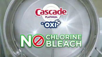 Cascade Platinum + OXI TV Spot, 'As Clean as Possible: 99% Visible and Invisible Food Residue' - Thumbnail 9