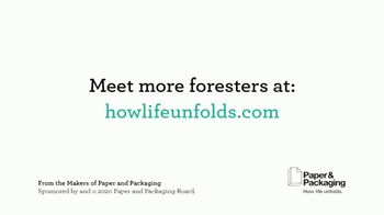 Paper and Packaging Board TV Spot, 'Faces of the Forest: Gray Family' - Thumbnail 8
