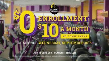 Planet Fitness TV Spot, 'No Enrollment Fee' - Thumbnail 10