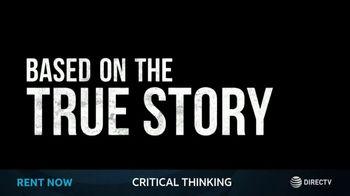 DIRECTV Cinema TV Spot, 'Critical Thinking' - Thumbnail 4