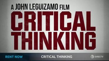 DIRECTV Cinema TV Spot, 'Critical Thinking' - Thumbnail 9