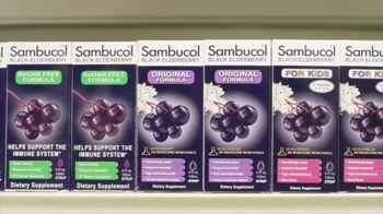 Sambucol TV Spot, 'Immune Support for the Whole Family'