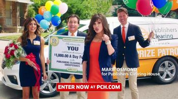Publishers Clearing House TV Spot, 'Real People' Featuring Marie Osmond