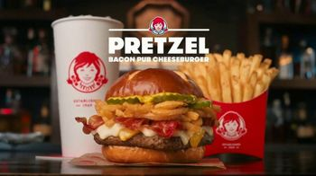 Wendy\'s Pretzel Bacon Pub Cheeseburger TV Spot, \'Nothing Will Distract You\'