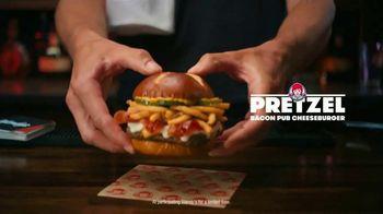 Wendy's Pretzel Bacon Pub Cheeseburger TV Spot, 'Nothing Will Distract You' - Thumbnail 2